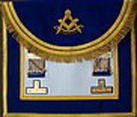 DkBlue masters Apron