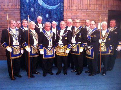Grand Lodge Team Y Installation 13