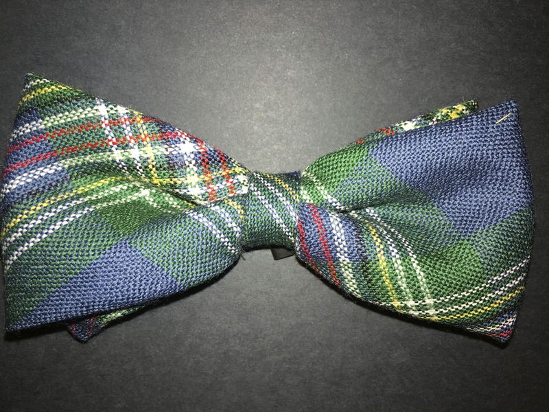 Australian National Tartan bow tie_m